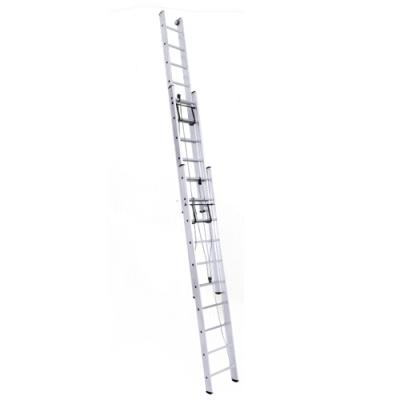 Лестницы трехсекционные с канатной тягой