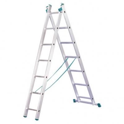 Лестницы 2-секционные алюминиевые