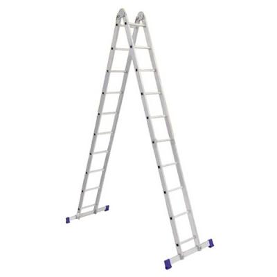 Лестницы двухсекционные шарнирные