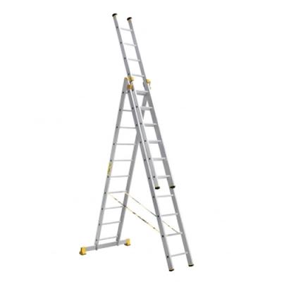 Лестницы профессиональные трехсекционные