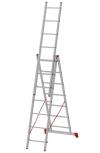 """Лестницы алюминиевые 3-секционные """"Новая Высота"""", полупрофессиональные"""