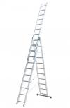 Лестницы 3-секционные алюминиевые