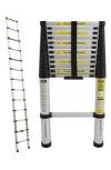 Алюминиевые односекционные телескопические лестницы