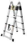 Алюминиевые двухсекционные телескопические лестницы